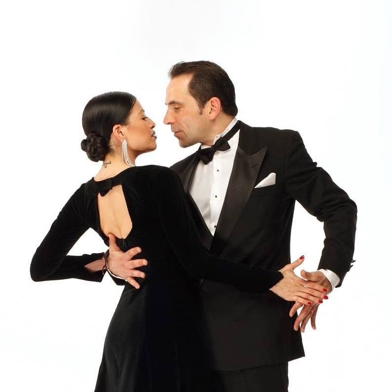 Ezequiel Paludi e Geraldine Rojas